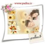 دانلود رایگان فون عروس و داماد با گل لیلیوم