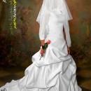 بک گراند تیره عروس، فون کاستوم عروس