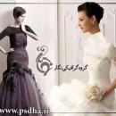 ژست عروس و مدل لباس عروس 2012 به سبک  اروپایی