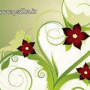 وکتور گل و بوته