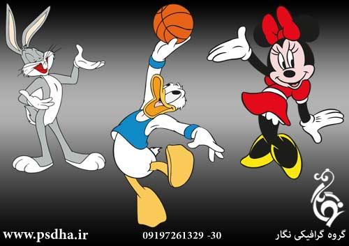 شخصیت های کارتونی