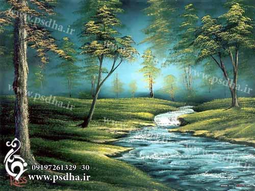 بک گراند نقاشی