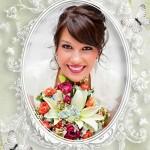 فریم دیجیتالی عروس