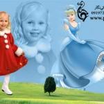 فون کودک با بک گراند شخصیت سیندرلا