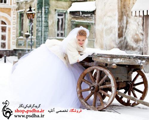 باغ عروسی در زمستان
