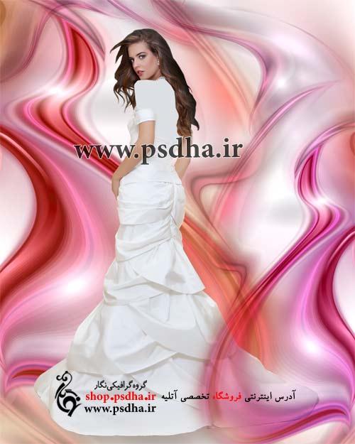 بک گراند عکس عروسی