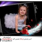 فون کودک با بک گراند مشکی 1078
