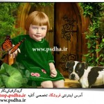 بک گراند عکس آتلیه کودک
