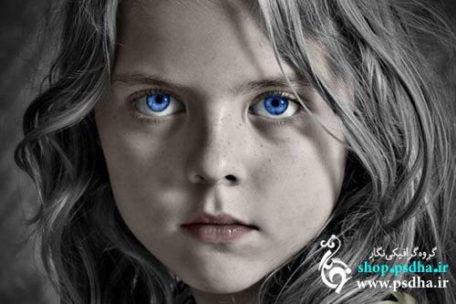 سیاه و سفید کردن بخشی از عکس در فتوشاپ
