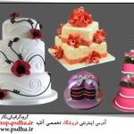 فایل لایه باز کیک تولد 1111