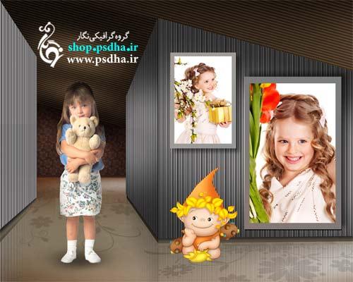 بک گراند عکس کودک