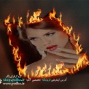 دانلود پی اس دی موکاپ عکس در آتش