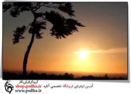 فوتیج غروب آفتاب