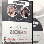 کاور و لیبل فتوشاپی برای فیلم عروسی