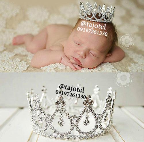 تاج نوزاد برای عکاسی از نوزاد
