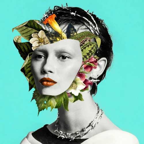 طراحی چهره زن با فتوشاپ