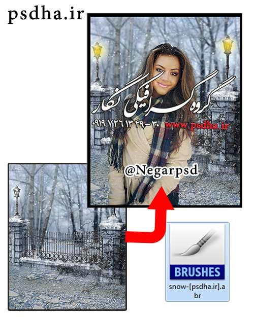 دانلود بک گراند با کیفیت برف و زمستان