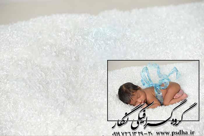 دانلود عکس با کیفیت دکور سبد برای نوزاد