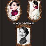 دانلود فریم عکس psd برای طراحی عکس