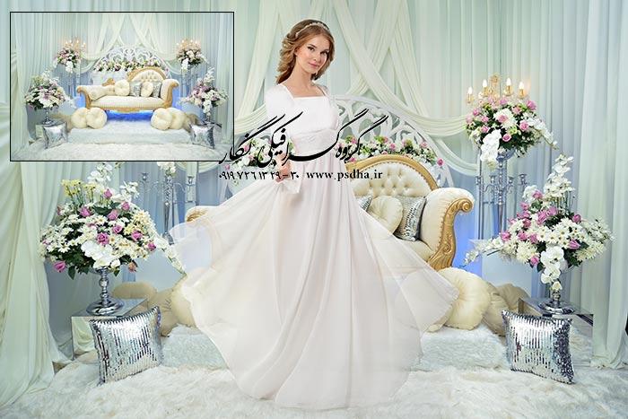 بک گراند عکس عروسی و تالار با کیفیت عالی