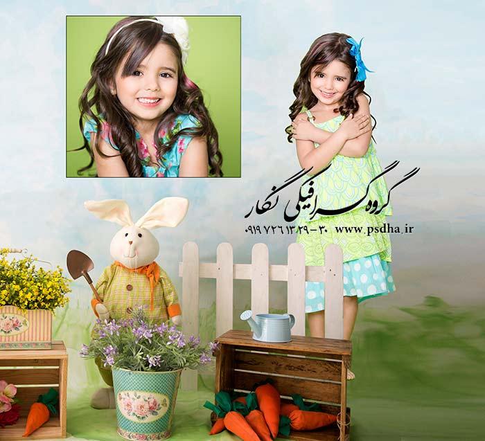 بک گراند عکس آتلیه کودک و نوزاد