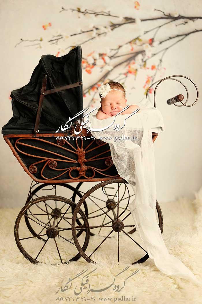 دانلود بک گراند دکور آتلیه نوزاد و کودک