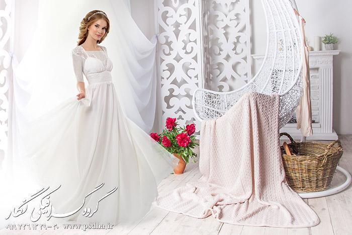 پس زمینه عکس آتلیه عروس و داماد با کیفیت