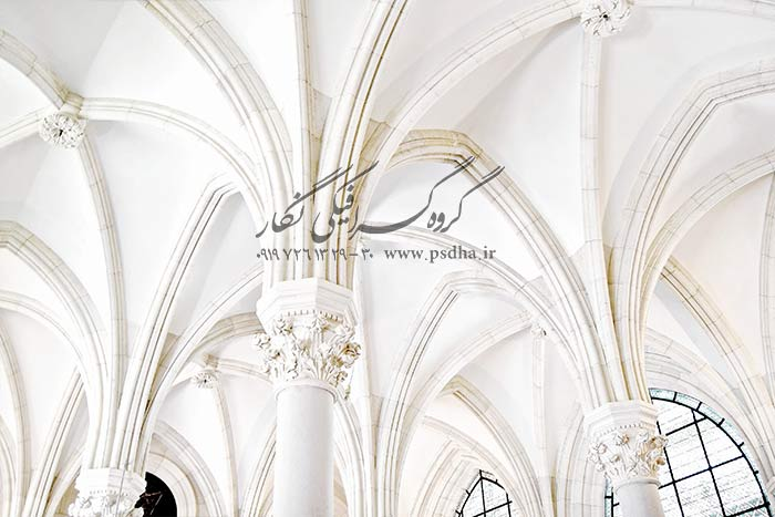 بک گراند عروس با نمای آتلیه و عمارت