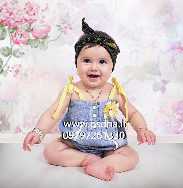 دانلود بکگراند کاغذ دیواری کودک نوزاد