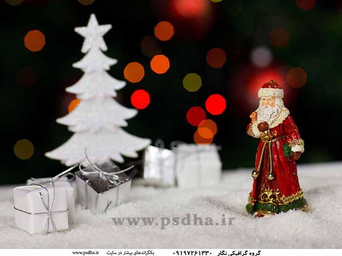 بک گراند کریسمس و بابانوئل