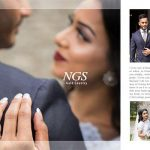 قالب آماده عکس عروسی بصورت ژورنالی و روزنامه – بخش اول