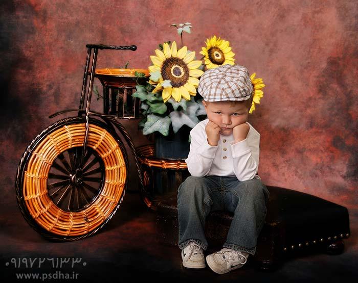 دانلود فون کودک آتلیه ای برای طراحی عکس