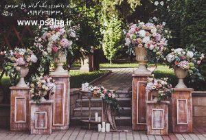 دانلود بک گراند باغ عروس برای طراحی