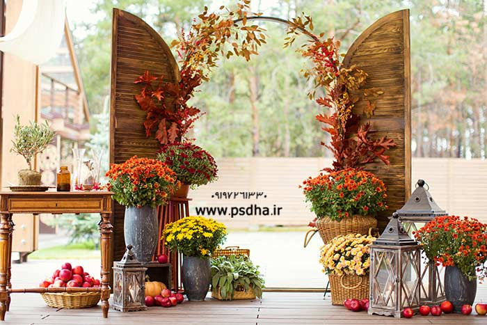 بک گراند باغ و طبیعت با کیفیت عالی