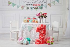 دانلود بک گراند آتلیه عکاسی کودک و عروس