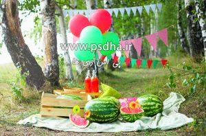 دانلود بک گراند باغ برای طراحی عکس کودک
