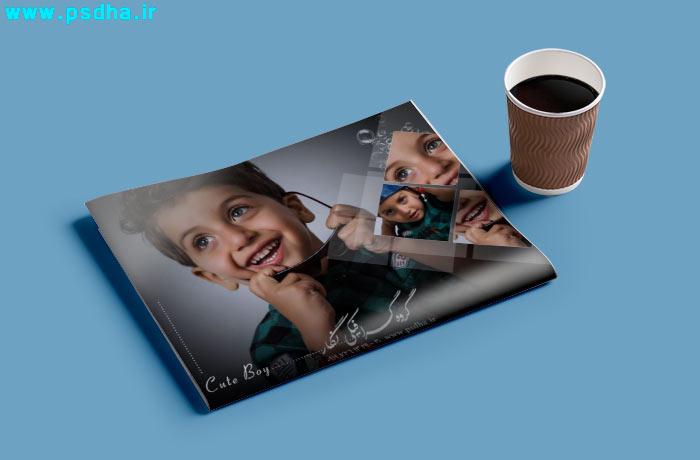 دانلود فون لایه باز کودک برای چینش عکس