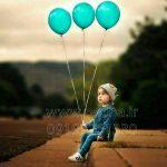 عکس با کیفیت بادکنک برای طراحی عکس کودک کد3817