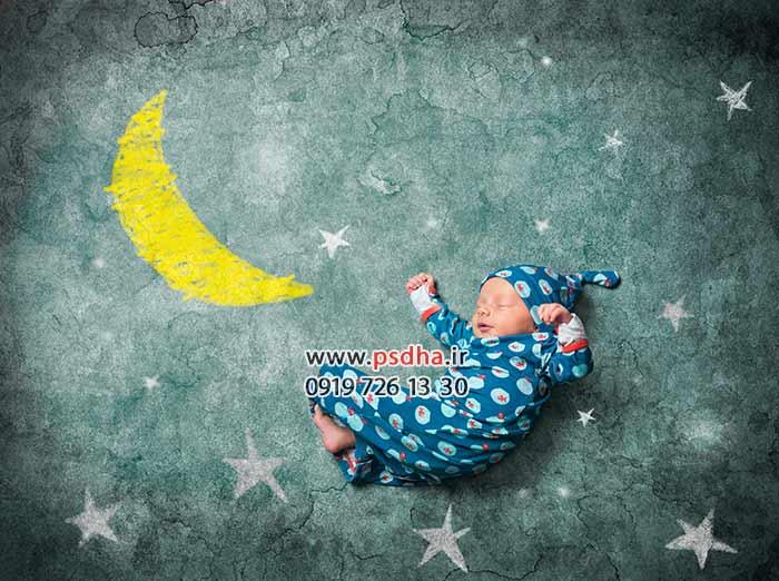 دانلود بک دراپ برای طراحی عکس نوزاد