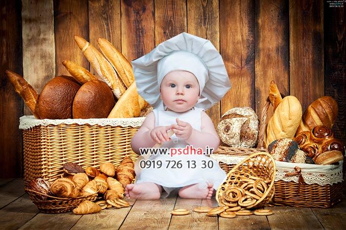 دانلود بک گراند عکس کودک با تم پسرانه و سنتی