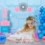 دانلود بک گراند تولد کودکانه جهت طراحی کد 3877