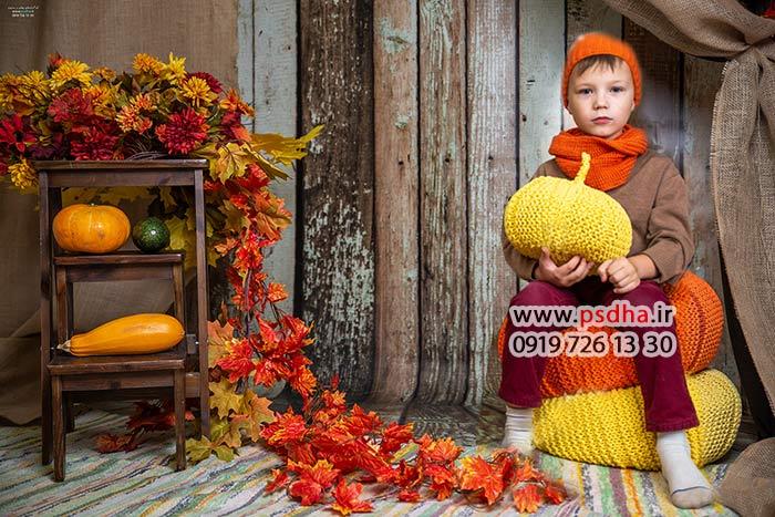 دانلود بک گراند با کیفیت پاییز و هالوین