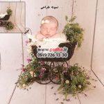 دانلود بک دراپ سبد نوزاد با دکورهای بی نظیر و متنوع کد 3768