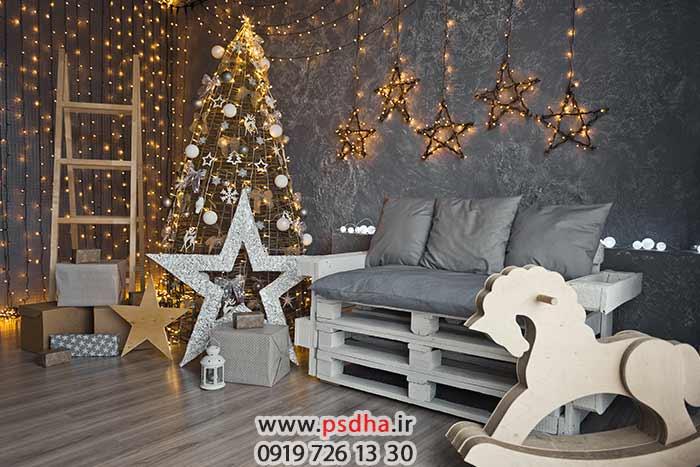 بک گراند برای طراحی عکس آتلیه کریسمس
