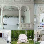 دانلود بک گراند عمارت و باغ عروس برای طراحی عکس عروسی کد 3980