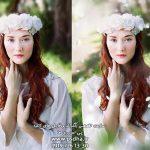 دانلود افکت گلبرگ سفید رز بصورت پوششی و png کد 3985
