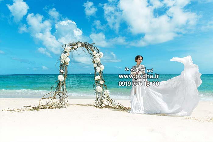 خرید بک گراند عروس و داماد