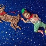 دانلود بکگراند تم پارچه ای نوزاد برای طراحی عکس کودک کد 4003