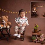 دانلود بکدراپ آتلیه برای عکس کودک کد 4050