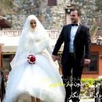 بک گراند و ژست عروس و داماد